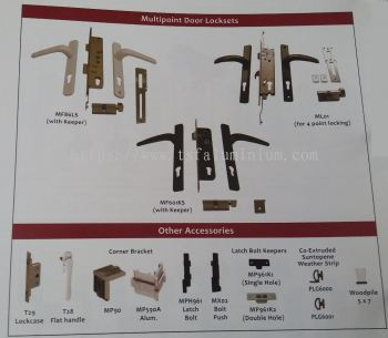 multipoint door locksets and accessories