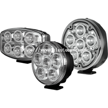 Quad-Optic LED Driving Lights