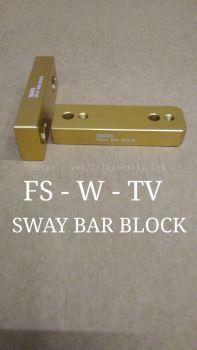 SWAY BAR BLOCK HILUX