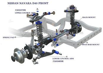 NAVARA D40 FRONT SYSTEM