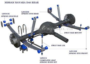 NAVARA D40 REAR SYSTEM