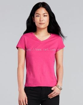 63V00L GILDAN® SOFTSTYLE™ LADIES V-NECK T-SHIRT