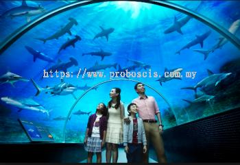 S.E.A. Aquarium Sentosa Singapore