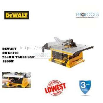 DEWALT DWE7470-B1 1800W 10 254mm Table Saw FOC 2 THING! (LIMITED)