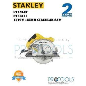 STANLEY STEL311 1510W 185MM CIRCULAR SAW INCLUDE BLADE FOC THREE SAND PAPER