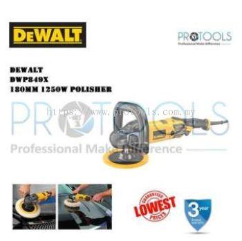 DEWALT DWP849X Polisher 7 1250W 600-3500Rpm 3Kg FOC 7INCH POLISHING SPONGE