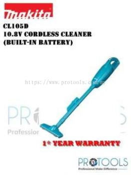 MAKITA CL105DWX 10.8V CORDLESS VACUUM CLEANER