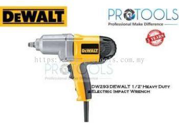 DW293 DEWALT 12' Heavy Duty Electric Impact Wrench