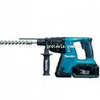 "MAKITA DHR242Z 24MM (15/16"") CORDLESS COMBINATION HAMMER (LXT SERIES)"