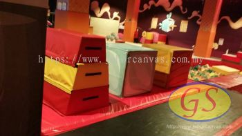 Gymnastic Foam with Cover S