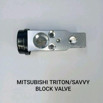 MITSUBISHI TRITON/SAVVY BLOCK VALVE