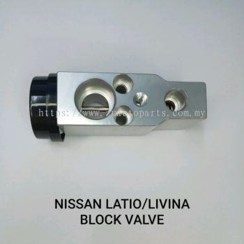 NISSAN LATIO/LIVINA BLOCK VALVE