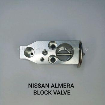 NISSAN ALMERA BLOCK VALVE
