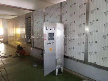 Tunnel Freezer Installation