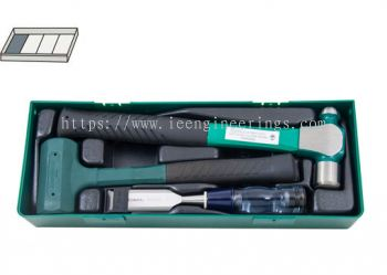 3PCS HAMMER & WOOD CHISEL SET