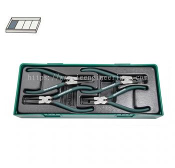4PCS INTERNAL & EXTERNAL PLIERS SET