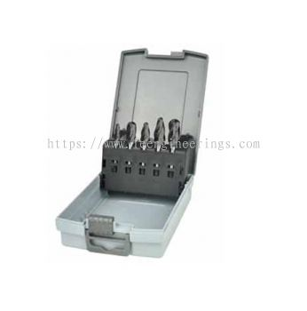 5Pc DLC Coating Carbide Burr Set (Aviation Grade, 6mm Shank, Aluma Cut)
