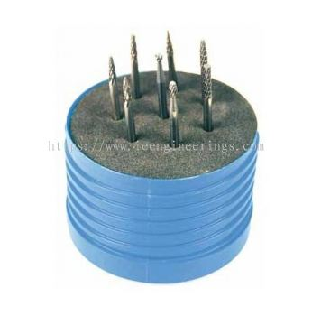 65 x 100mm Round Plastic Box for Carbide Burr Set