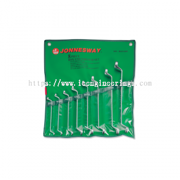 8PCS 75° OFFSET RING WRENCH SET (MM) (W23108S)
