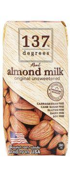 137 Degrees Almond Milk Unsweetened 3x180ML