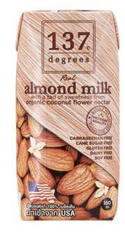 137 Degrees Almond Milk Original 3x180ML