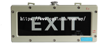 Explosion Proof LED Exit Light
