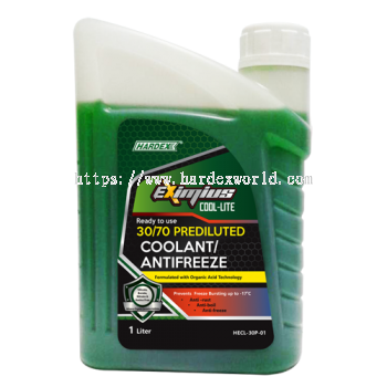 Hardex Eximius Cool-Lite 30/70 Prediluted Coolant/Antifreeze 1L