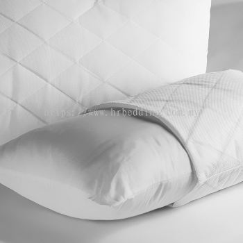 Plain White Pillow Protector