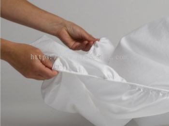 Plain White Fitted Sheet