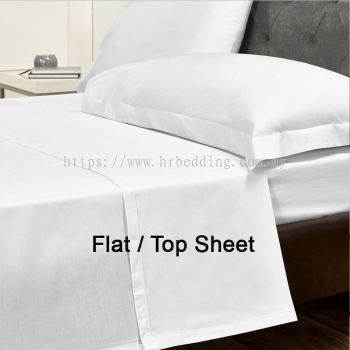 Plain White Flat Sheet
