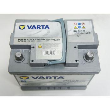 Varta Silver (D52) 60AGM