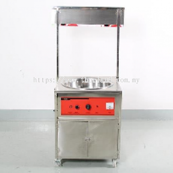 Candy Floss Machine Gas Commercial with Kiosk