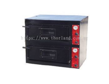 GAS OR ELECTRIC PIZZA OVEN DOUBLE LAYER