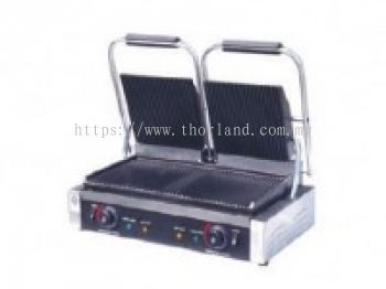 DOUBLE PLATE PANINI GRILL