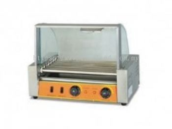 ROLLING HOT DOG GRILL (7ROLLERS)