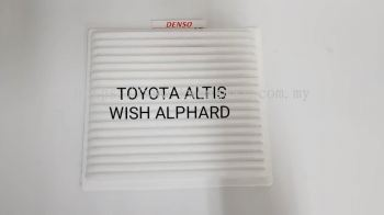 TOYOTA ISISI ALTIS 03 WISH ALPHARD BLOWER CABIN AIR FILTER 014520 0890