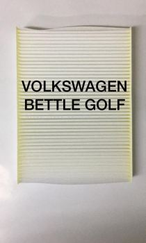 VOLKSWAGEN BETTLE / GOLF BLOWER CABIN AIR FILTER