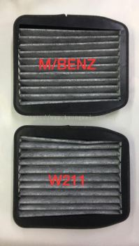 MERCEDES BENZ W211 CHARCOAL BLOWER CABIN AIR FILTER