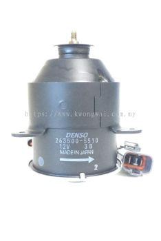 HONDA RADIATOR FAN MOTOR 263500-5510 (DENSO)