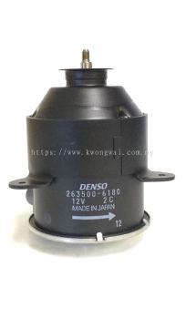 TOYOTA RADIATOR FAN MOTOR 263500-6180 / 5251 (DENSO)