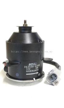 TOYOTA RADIATOR FAN MOTOR 263500-6340 / 5120 (DENSO)