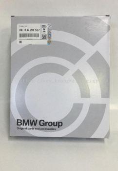 BMW F10 / F1 / F2 / F3 / F4 BLOWER CABIN AIR FILTER 64 11 6 991 537 (oem)