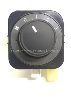 CHEVROLET CAPTIVA 08 2.0D AIR COND BLOWER SWITCH REAR (6PIN)