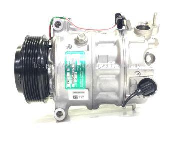 LAND ROVER DISCOVERY V MK5 V6 3.0 2016 COMPRESSOR SANDEN PXC16 CPLA-19D629-AH 8776P
