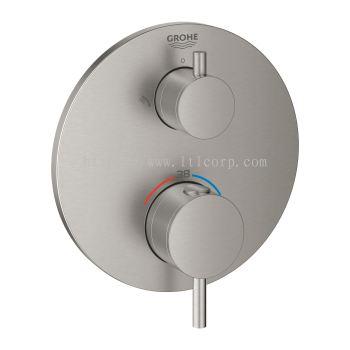 Grohe Atrio 24135DC3 2-Ways Thermostatic Shower Trimset