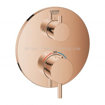 Grohe 24135DA3 2-Way Thermostatic Shower Trimset