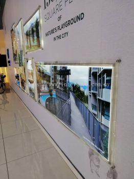 Display Wall Sign With LED lighting