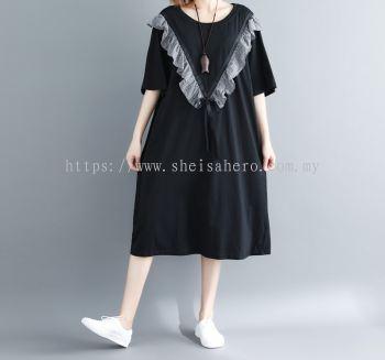 Oversize Cotton Dress