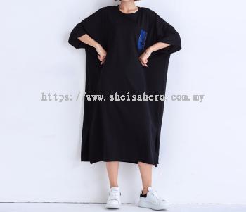 Sheisahero Korea - Cotton Dress 2410/20