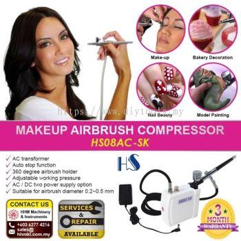 HAOSHENG Makeup Airbrush Compressor HS08AC-SK